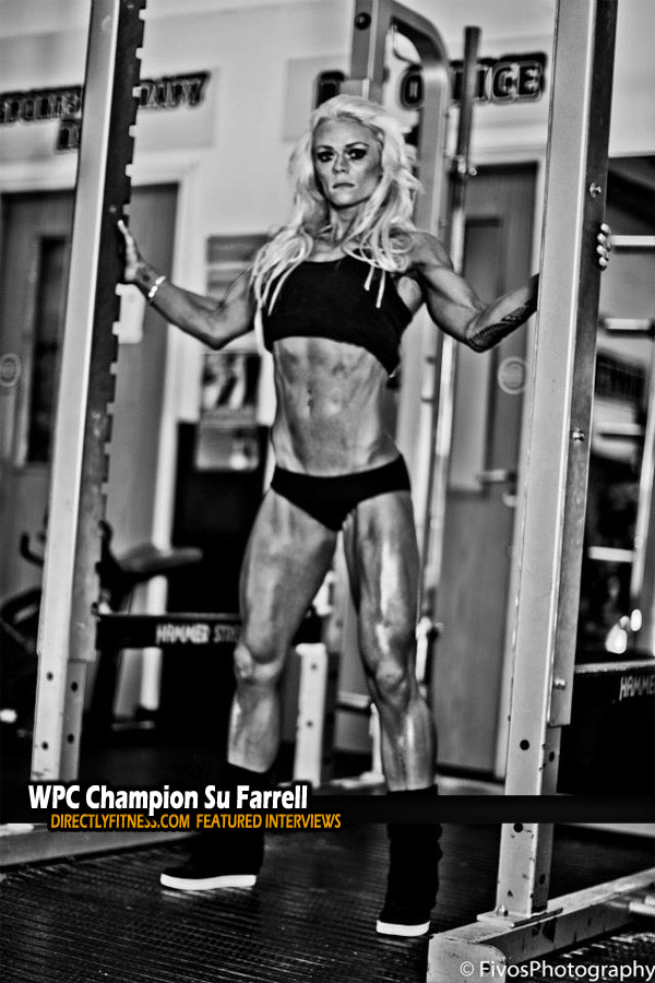 World Powerlifting Chamption Su Farrell Interviews with Directlyfitness.com