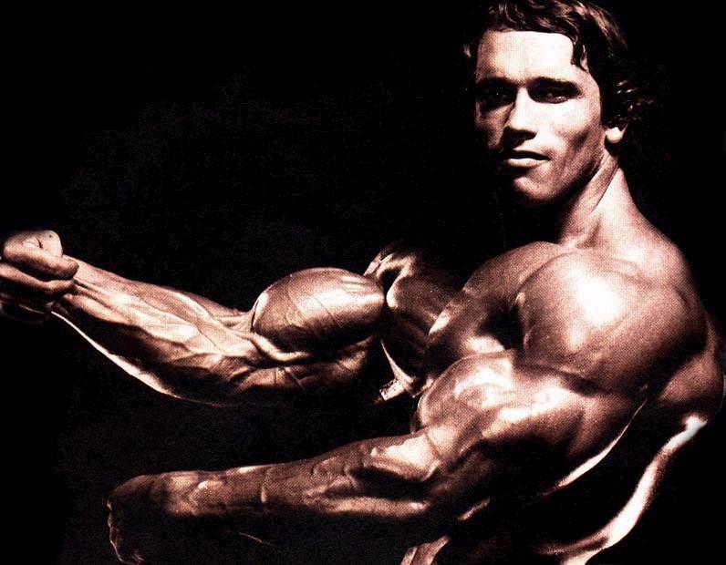 Right! seems Arnold schwarzenegger naked body