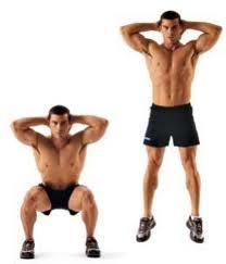 Lower Body Strengthening: Plyometric Squat Exercise
