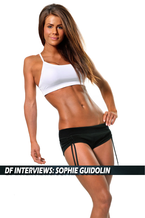 Fitness Model Sophie Guidolin Interviews with Directlyfitness.com